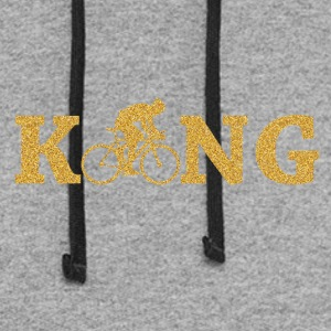 King Bicycle - Colorblock Hoodie