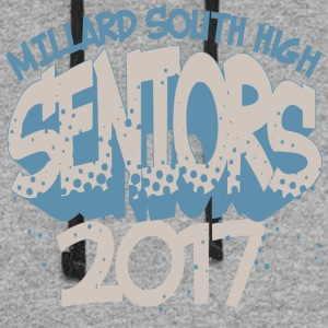 Millard South High 2017 - Colorblock Hoodie