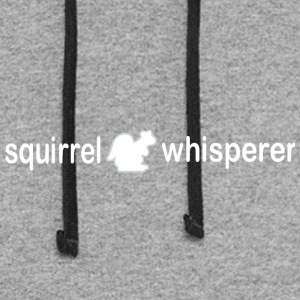 Squirrel whisperer - Colorblock Hoodie