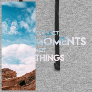 Moments Not Things - Colorblock Hoodie