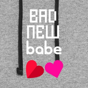 Bad new babe - Colorblock Hoodie