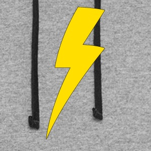 Lightning bolt - Colorblock Hoodie
