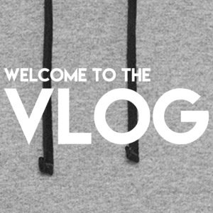 Welcome to the Vlog - Colorblock Hoodie