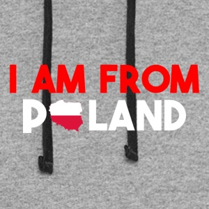 I am from POLAND - Colorblock Hoodie