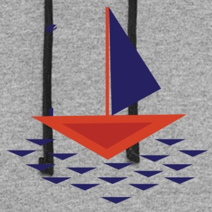 Boat abstract - Colorblock Hoodie