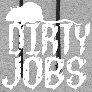 Dirty jobs - Colorblock Hoodie