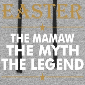 Easter The Mamaw The Myth The Legend - Colorblock Hoodie