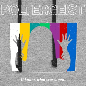 Poltergeist by Andre Moraes - Colorblock Hoodie