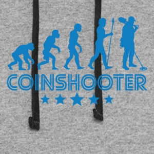 Retro Coinshooter Evolution - Colorblock Hoodie