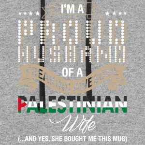 Im A Proud Husband Of A Freaking Awesome Palestini - Colorblock Hoodie