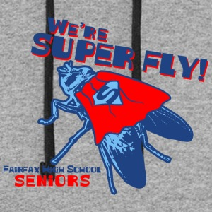 We're Super Fly Fairfax High School Seniors - Colorblock Hoodie