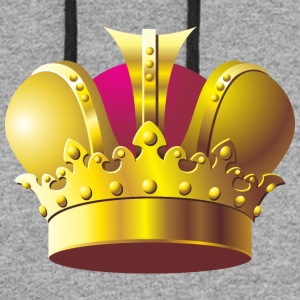 Monarch vip golden royal crown King gold - Colorblock Hoodie