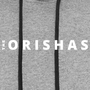The Orishas (White Letters) - Colorblock Hoodie