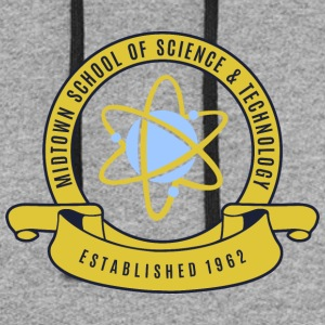 Midtown School of Science & Tachnology - Colorblock Hoodie