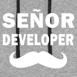 Senor Developer - Colorblock Hoodie