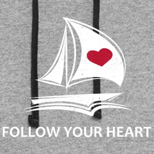 Follow Your Heart - Colorblock Hoodie