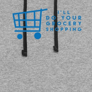 I'll Do Your Grocery Shopping - Colorblock Hoodie