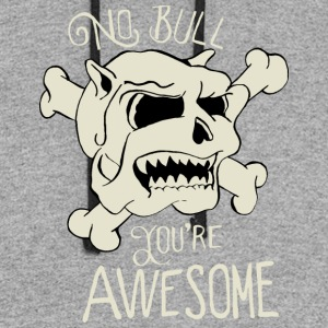 No Bull You're Awesome - Colorblock Hoodie