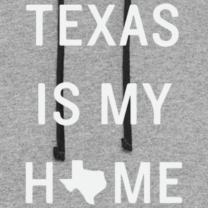 Texas is my home - Colorblock Hoodie