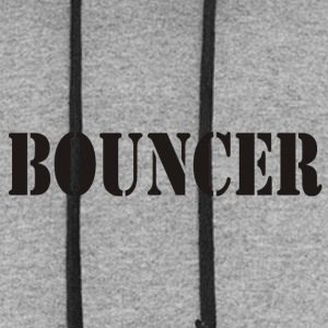 bouncer back front - Colorblock Hoodie