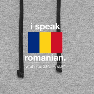 SUPERPOWER romanian - Colorblock Hoodie