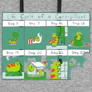 The Life Cycle of a CATerpillar - Colorblock Hoodie