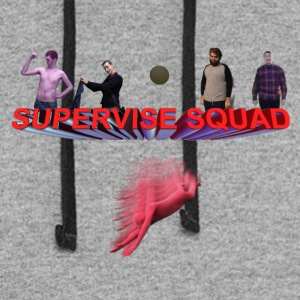supervise Squad w/ Multiplication Man - Colorblock Hoodie
