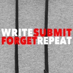 Write Submit Forget Repeat - Colorblock Hoodie