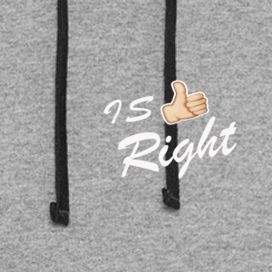 IS RIGHT - Colorblock Hoodie