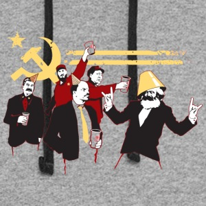 The Communist Party - Colorblock Hoodie