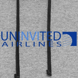 UNINVITED AIRLINES - Colorblock Hoodie