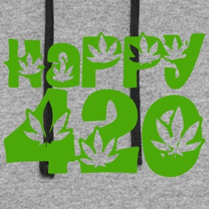 Happy 420 - Colorblock Hoodie