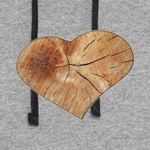 Heart_Wood_Isle | by Isles of Shirts - Colorblock Hoodie