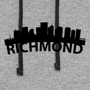 Arc Skyline Of Richmond VA - Colorblock Hoodie