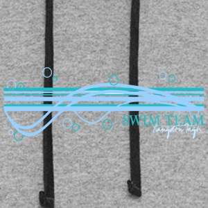 SWIM TEAM Langdon High - Colorblock Hoodie