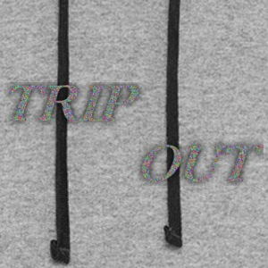 TRIP OUT CONFETTI - Colorblock Hoodie