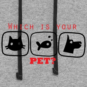 Which is you Pet - Colorblock Hoodie
