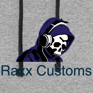 raxx customs logo 2 - Colorblock Hoodie