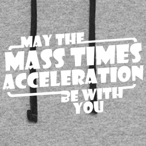 May The Mass x Acceleration - Colorblock Hoodie