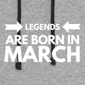 Legends Born March - Colorblock Hoodie
