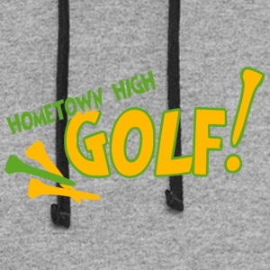 Hometown High Golf - Colorblock Hoodie