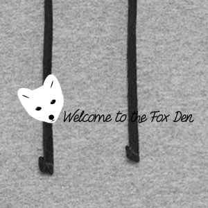 Welcome to the Fox Den! - Colorblock Hoodie