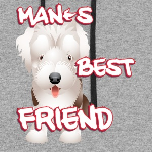 Man s best friend 3 - Colorblock Hoodie