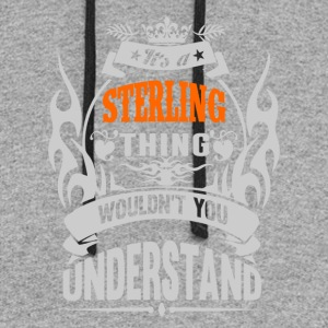 IT'S A STERLING THING TSHIRT - Colorblock Hoodie