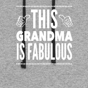 This Grandma Is Fabulous - Colorblock Hoodie