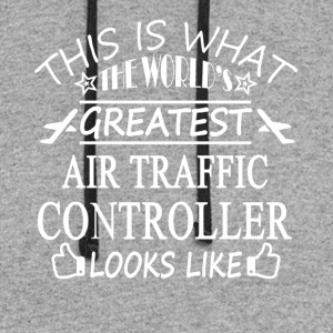 Air Traffic Controller Tee Shirts - Colorblock Hoodie
