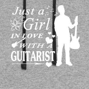 GIRL IN LOVE WITH GUITARIST SHIRT - Colorblock Hoodie