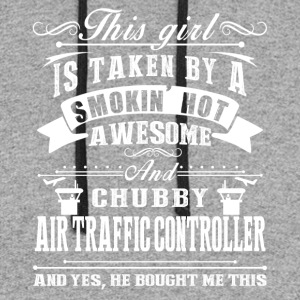 Awesome Air Traffic Controller Shirt - Colorblock Hoodie