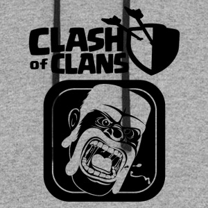 Barbarian Clash of Clans - Colorblock Hoodie