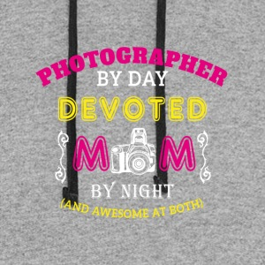 Photographer Mom - Colorblock Hoodie